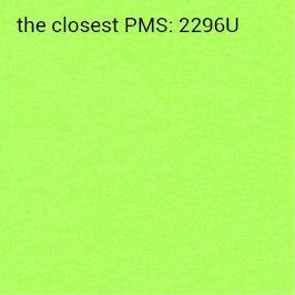 carta brillante verde 70g/mq autoadesiva (stampa consigliata nero)