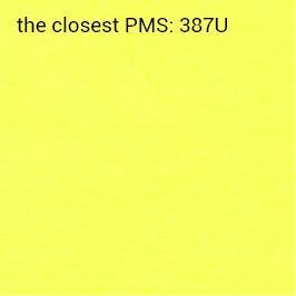 carta brillante gialla 70g/mq autoadesiva (stampa consigliata nero)