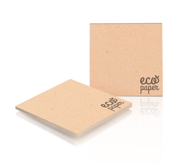 PM003-KRAFT Blocco adesivo ECO