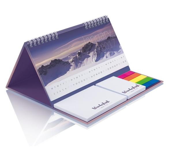 PM202b Calendario da banco copertina rigida
