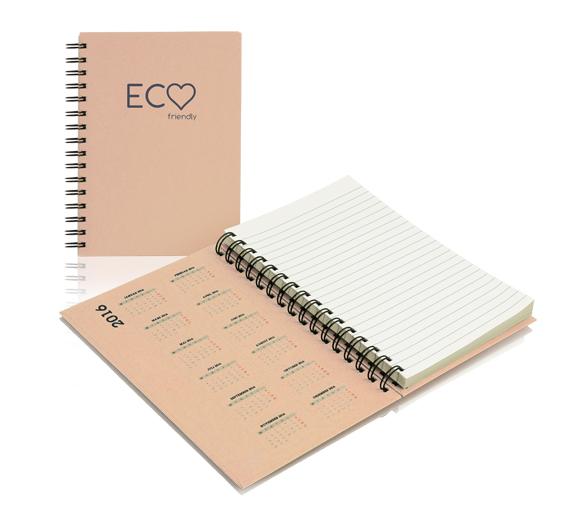 PM300_A5-ECO Blocco appunti in copertina rigida ECO
