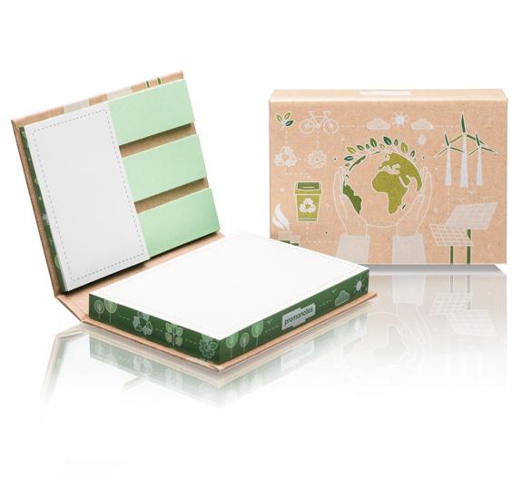 PM100-ECO Set di blocchi adesivi in copertina rigida